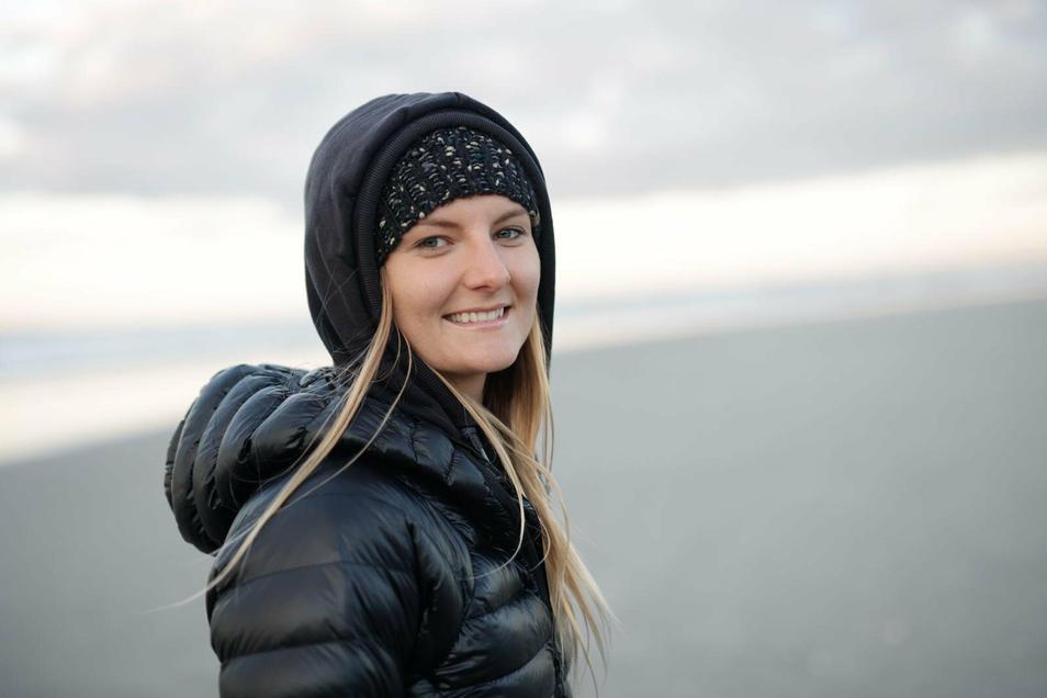 Iris Schmidbauer zählt zu den besten Klippenspringerinnen der Welt.
