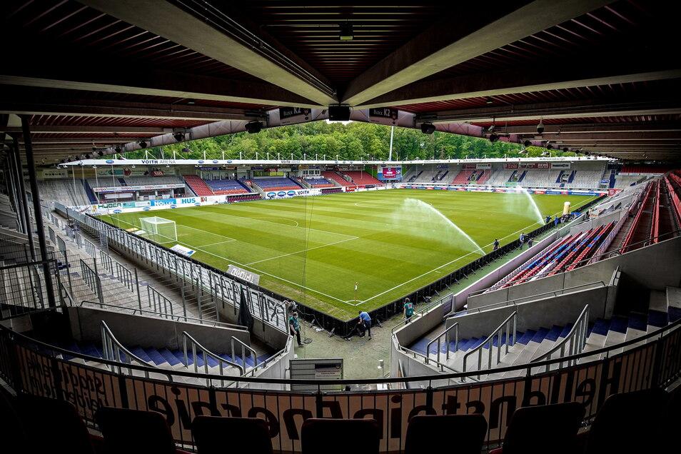 1. FC Heidenheim | Voith-Arena | Kapazität: 15.000 | Auslastung: 9.000 | Auslastung in Prozent: 60.