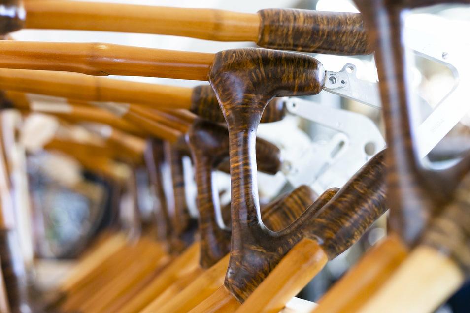 Das Unternehmen my Boo baut Bambusfahrräder. Auch dort hat die Nachfrage stark zugenommen.