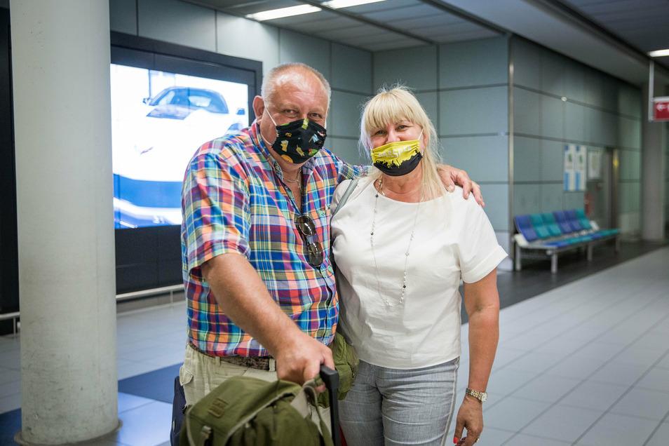 Jeugenia Homakov ist mit ihrem Mann für zehn Tage auf Mallorca im Urlaub gewesen. Die Reisewarnung hat das Paar überrascht.