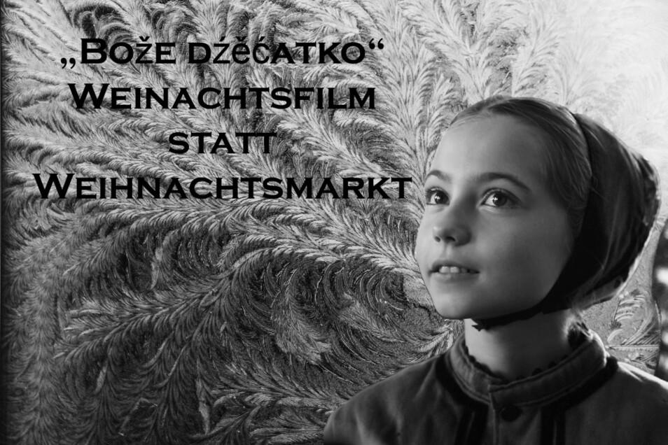 """Filmtitelbild zu """"Bože dźìćatko"""" – dieser Streifen zu einer sorbisch- hoyerswerdischen Tradition entsteht derzeit in der Hoyerswerdaer KulturFabrik. Geldgeber (und es handelt sich NICHT um Millionenbeträge) werden dringend gesucht."""