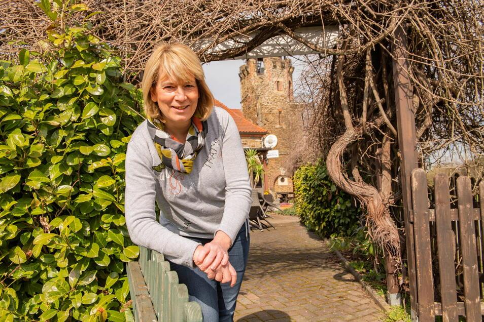 Es sind keine leichten Zeiten: Auch Angelika Pietzsch, Geschäftsführerin des Hotels und der Gaststätte Kupferberg in Großenhain, kämpft gemeinsam mit ihrem Bruder Kai-Michael Riepert um die Zukunft.