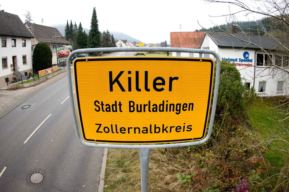 Da war sie noch da: Die Ortstafel des Dorfes Killer.