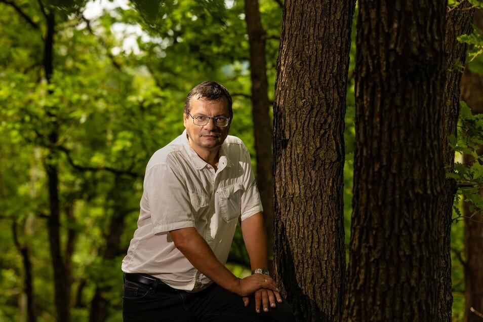 Durchstreift nicht nur beruflich Sachsens Naturschutzgebiete: Friedemann Klenke vom Landesamt für Umwelt, Landwirtschaft und Geologie.