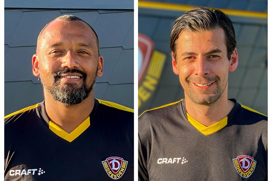 Ferydoon Zandi (rechts) wird Co-Trainer von Chefcoach Markus Kauczinski. David Yelldell (links) kümmert sich um die Torhüter.