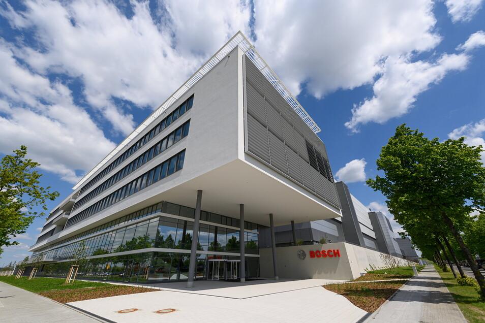 Die Chipfabrik der Robert Bosch GmbH im Dresdner Norden ist eröffnet.