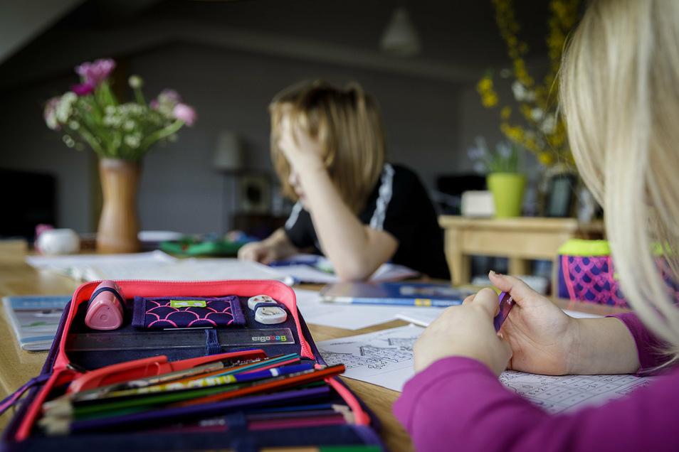 Symbolbild: Während Corona waren zahlreiche Schüler zu Hause und haben sogenanntes Homeschooling betrieben. Doch die Eltern eines Sohnes wollen das dauerhaft.