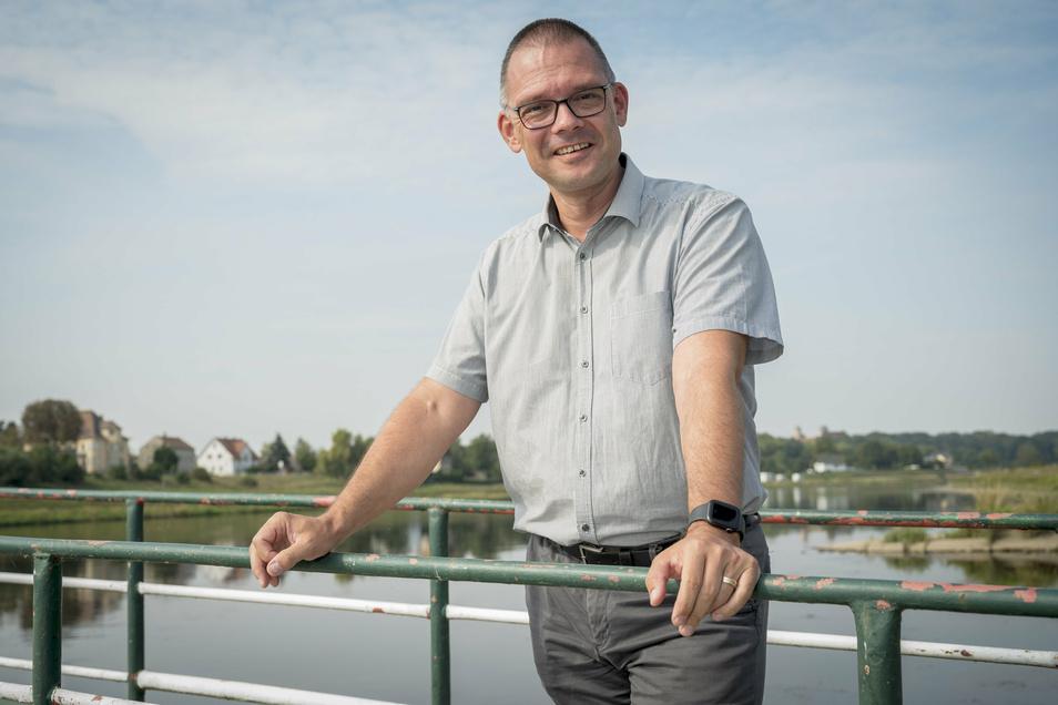 Der neue Meißner Landrat: Ralf Hänsel (50, parteilos). Er setzte sich mit über 51 Prozent schon im ersten Wahlgang gegen zwei Mitbewerber durch.
