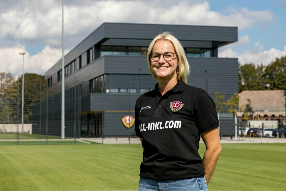 So präsentierten die Schwarz-Gelben ihre neue Teammanagerin Marie Jenhardt im Sommer 2020.