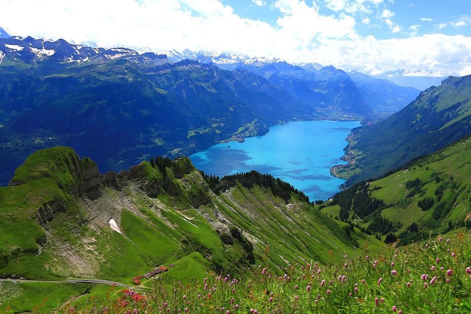 Die Bergwelt um den Brienzer See bei Interlaken ist die Heimat von Robert Straubhaar.