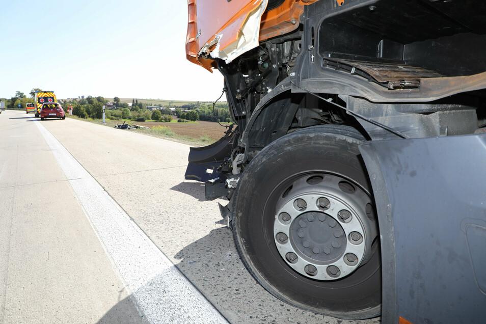 Auf der A4 beim Dreieck Nossen kam es am Freitag zu einem -Verkehrsunfall. Personen wurden nicht verletzt.