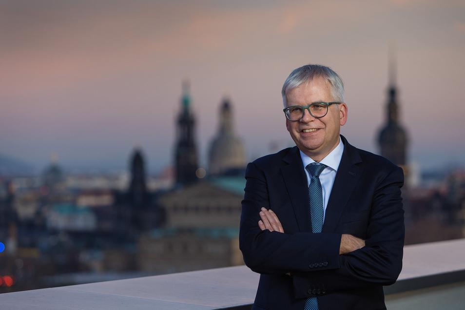 Finanzminister Hartmut Vorjohann.