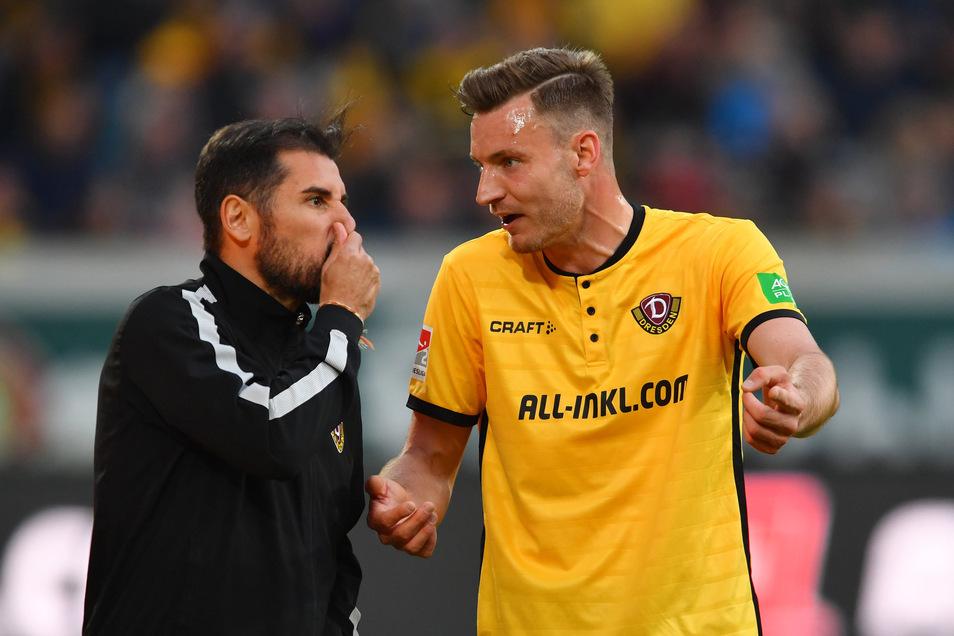 Florian Ballas kam in der Saison 2018/19 verletzungsbedingt nur auf zwölf Einsätze. Im Sommer bremste ihn eine Schulterverletzung aus, im Februar dann ein Außenbandriss. Den Saisonabschluss gegen Paderborn verpasste der 26-Jährige dann wegen Knieproblemen.