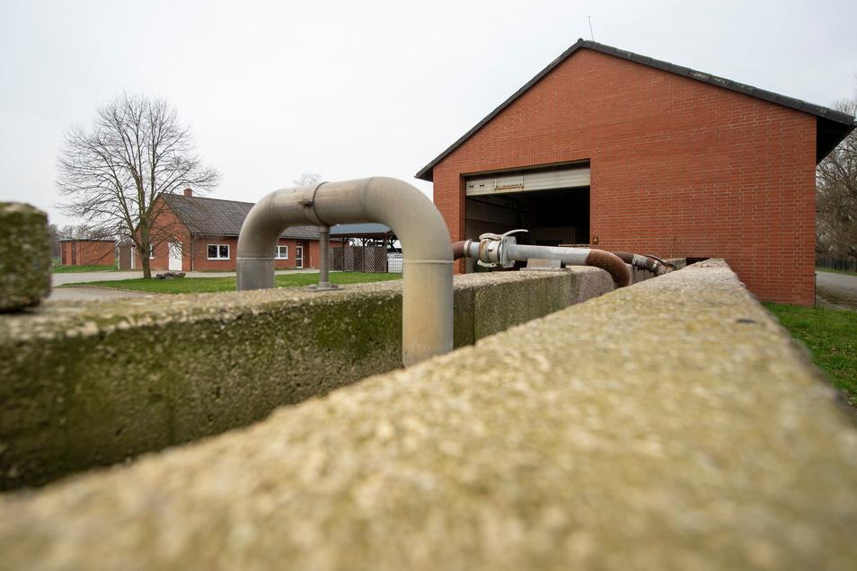 Die Kläranlage Kalkreuth. Hier werden die Verbandsabwässer gereinigt, hier wird derzeit auch gerade umgebaut.