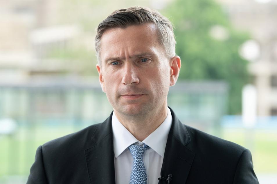 Martin Dulig tritt nicht wieder als Sachsens SPD-Chef an.