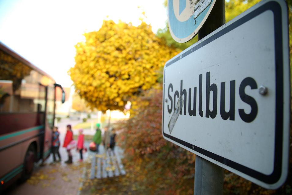 Ab Montag gilt im Landkreis Bautzen wieder der Fahrplan für Schultage. Seit einigen Wochen war wegen der Corona-Pandemie der Ferienfahrplan in Kraft.