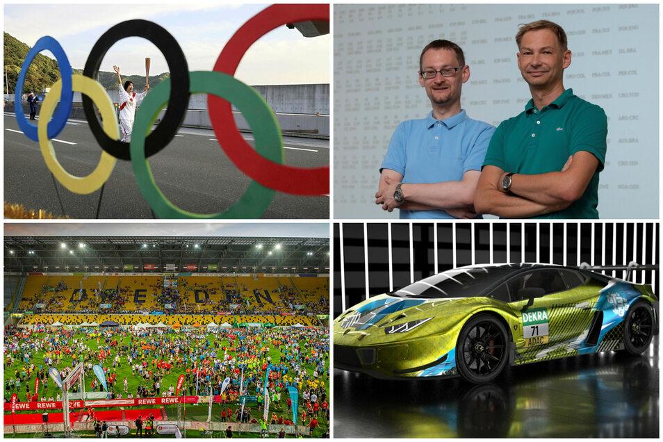 Der Sport-Freitag ist bunt und thematisch vielfältig: Es geht um Olympia, Dynamo, die Team Challenge und die neuen Pläne eines Dresdner Motorsport-Teams.