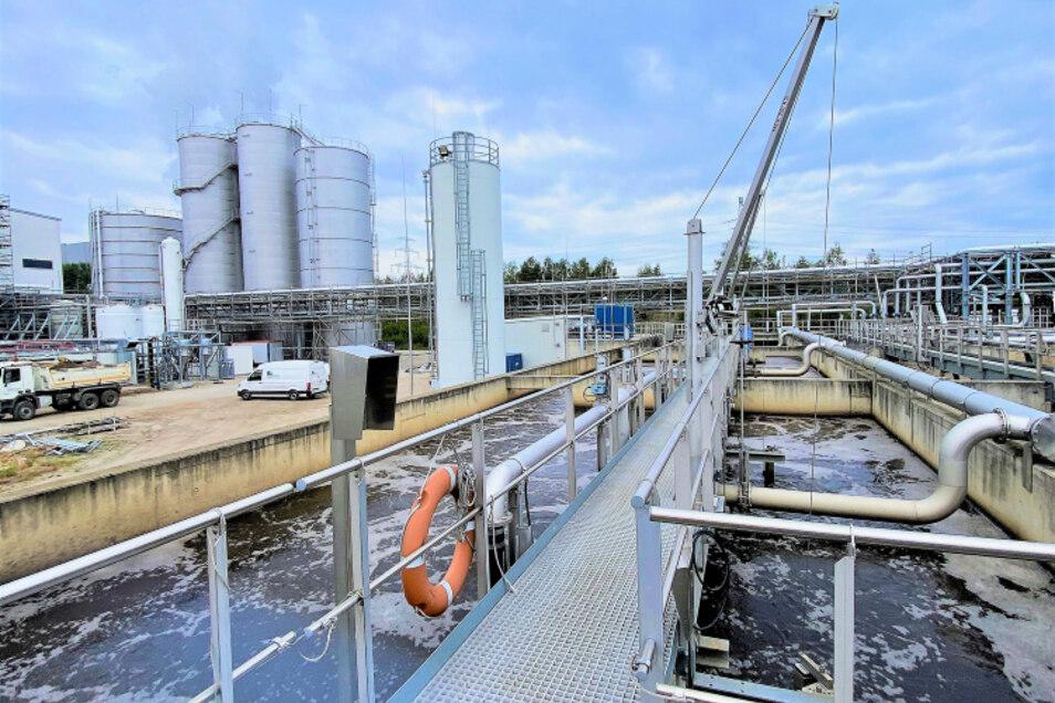 Bei den 125 in Schwarze Pumpe ansässigen Unternehmen fällt zwar auch Sanitär-, vor allem aber besonders anspruchsvolles Industrieabwasser an.