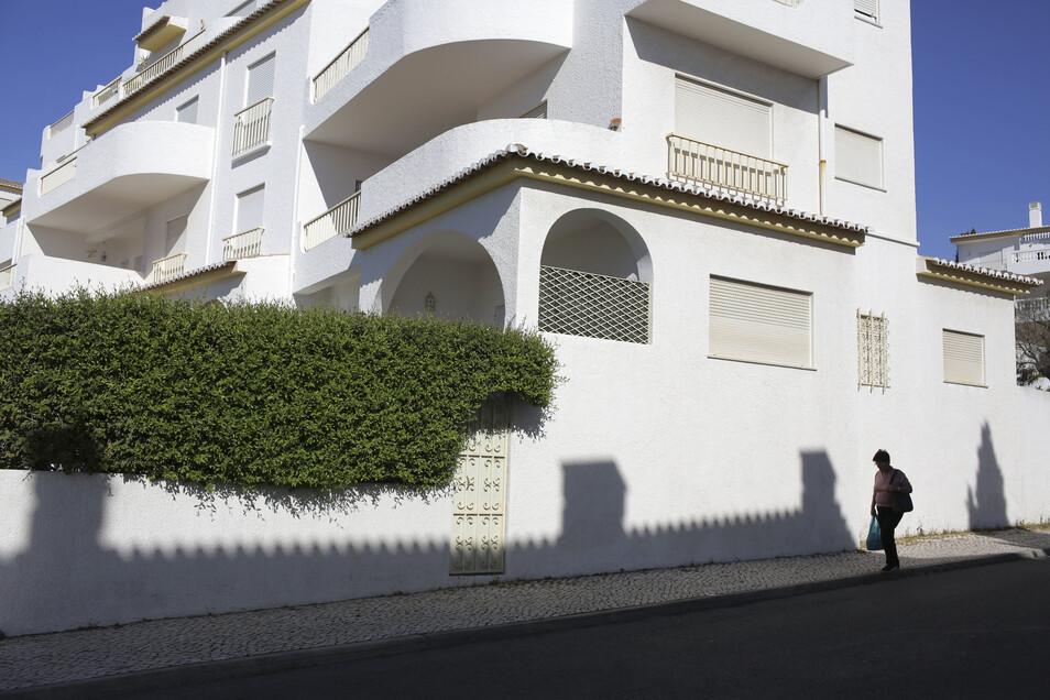 In diesem Appartmentkomplex in Praia da Luz machte die britische Familie McCann 2007 Urlaub.
