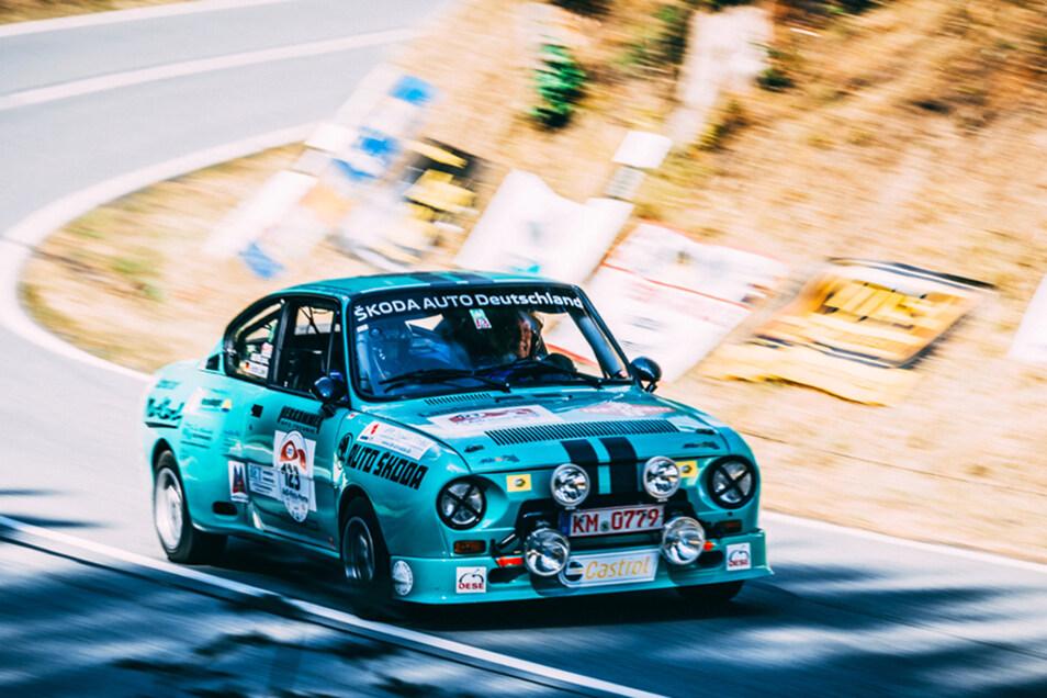 Lückendorfer Bergrennen – das legendäre Motorsportevent im Zittauer Gebirge. Foto: PR