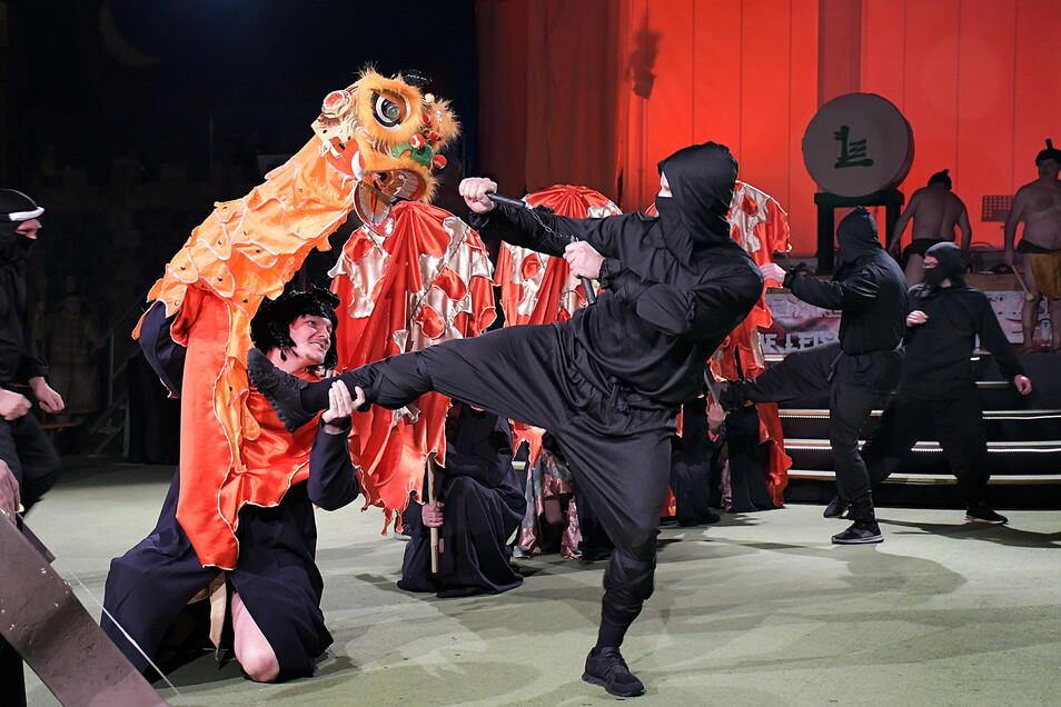 Nach ihrem Abstecher nach Asien wollen die Leisniger Karnevalisten ihr Publikum in der 69. Saison mit auf den Mond nehmen.