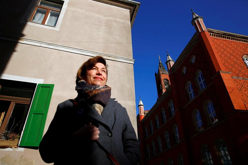 Seit acht Jahren ist Anne Hasselbach Citymanagerin in Kamenz. Im Mai dieses Jahres läuft die Förderung für die Stelle aus - doch die Stadt will daran festhalten.