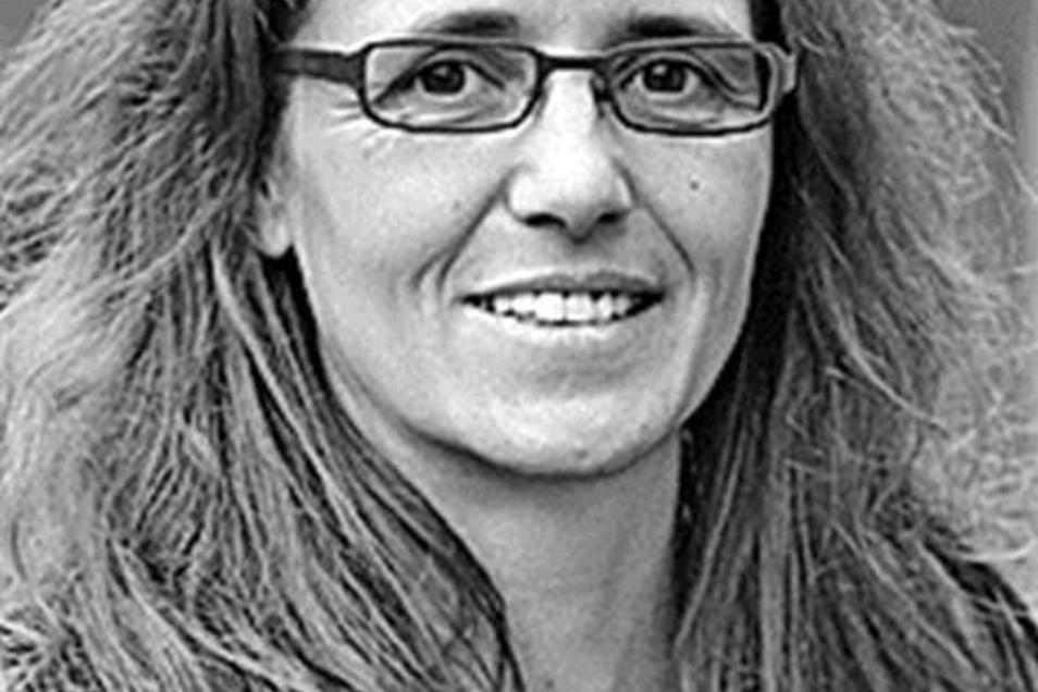 Dagmar Neukirch (41) tritt zur Wiederwahl an.