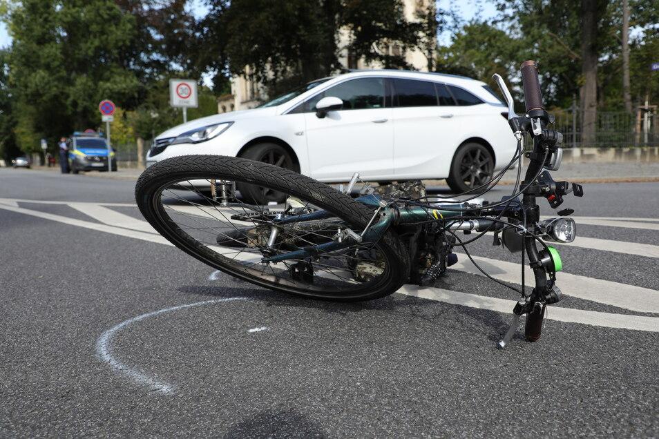Der Fahrer dieses Pedelecs stürzte, weil sein E-Bike bei einem Bremsmanöver kaputtging.