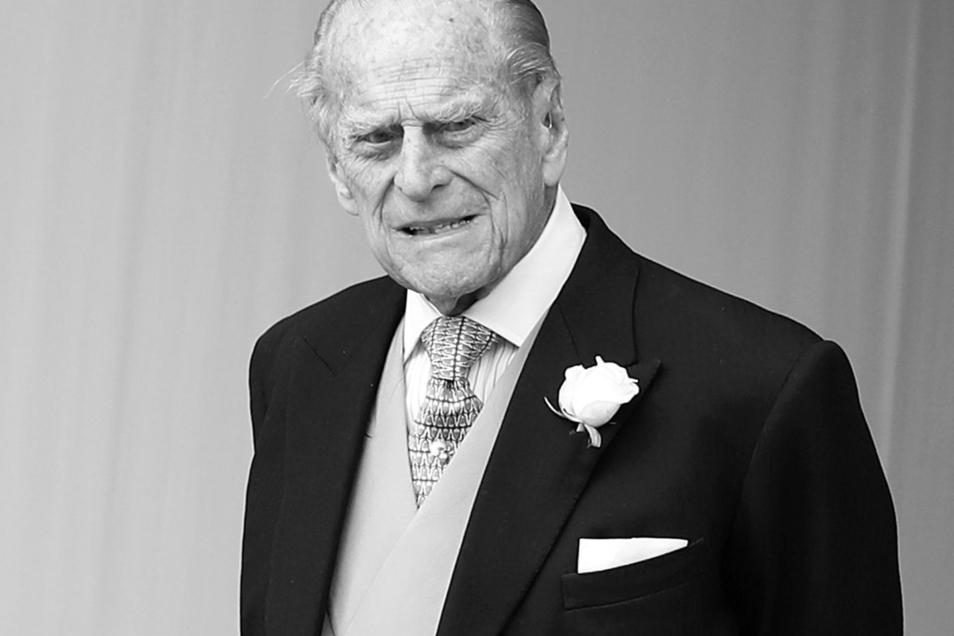 Prinz Philip war am vergangenen Freitag im Alter von 99 Jahren gestorben. Am Sonnabend soll er beigesetzt werden.
