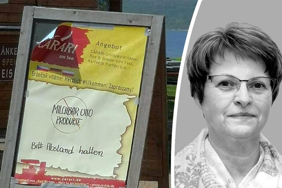 SZ-Redakteurin Gabriela Lachnit kommentiert die Situation am Berzdorfer See.