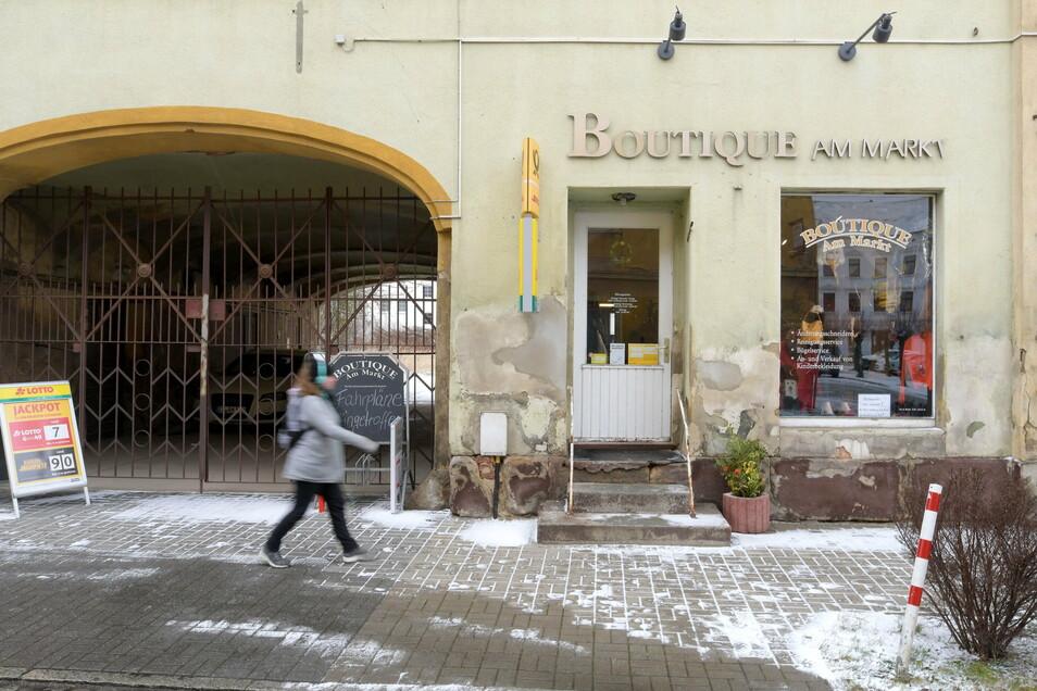 """Bis Ende Januar ist die """"Boutique am Markt"""" noch geöffnet."""