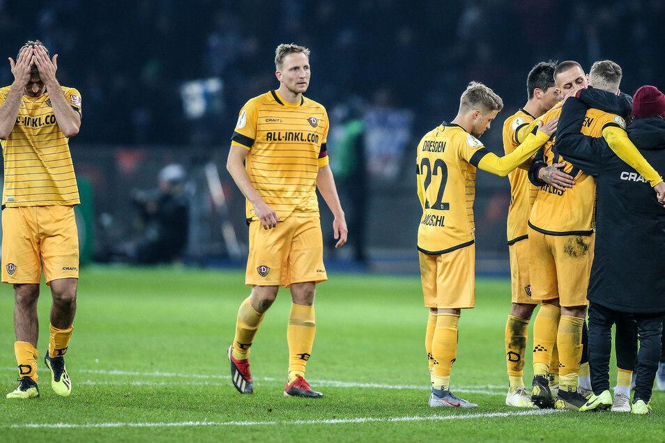 Die Dresdner zeigten eine couragierte Leistung - auch wenn es am Ende nicht zum Sieg reichte.