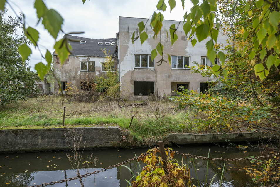 Der ehemalige Hoch- und Tiefbau an der Radeburger-/Ecke Martin-Scheumann-Straße gammelt vor sich hin. Hier soll ein Wohngebiet entstehen.