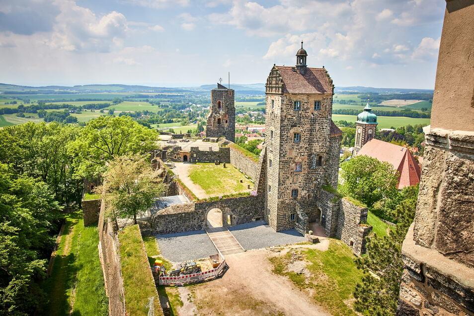 Ab sofort finden auf Burg Stolpen auch wieder Veranstaltungen statt. Und das Burgmuseum ist ebenfalls wieder täglich von 10 bis 18 Uhr geöffnet.