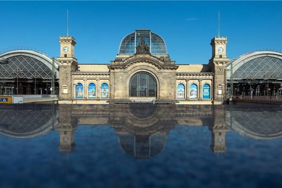 """Die Tester der """"Allianz pro Schiene"""" haben den Dresdner Hauptbahnhof in der Kategorie der Großstadtbahnhöfe ausgezeichnet."""