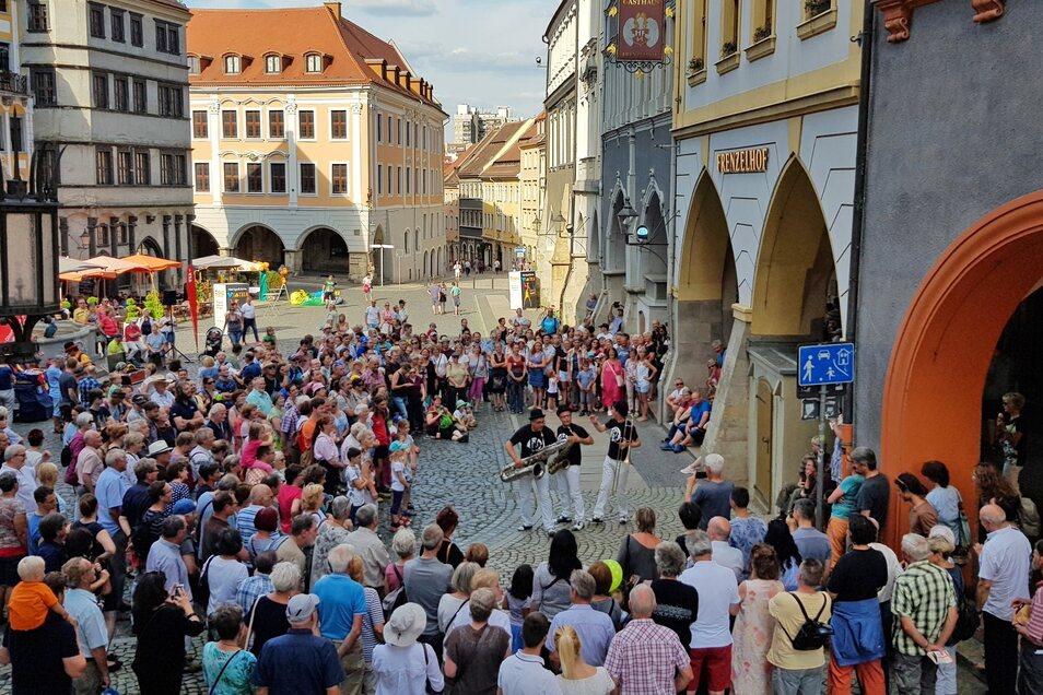 Die Mischung aus Stadtkultur und Naturerlebnis machen Görlitz für Touristen attaktiv.