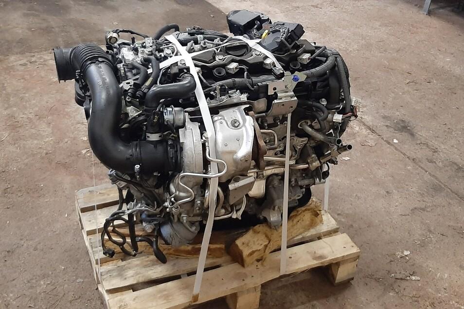 Dieser Motor konnte inzwischen einem Diebstahl zugeordnet werden.