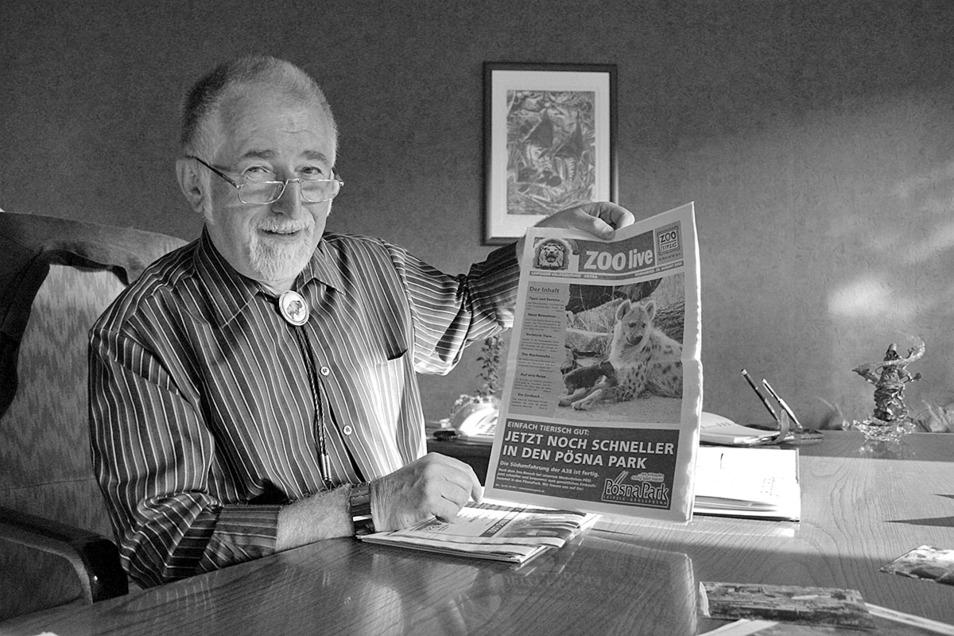 Der Ostrauer Hans-Peter Dürasch, hier im Jahr 2006, ist verstorben. Er hat lange Jahre die Ostrauer Kalkwerke GmbH geleitet.