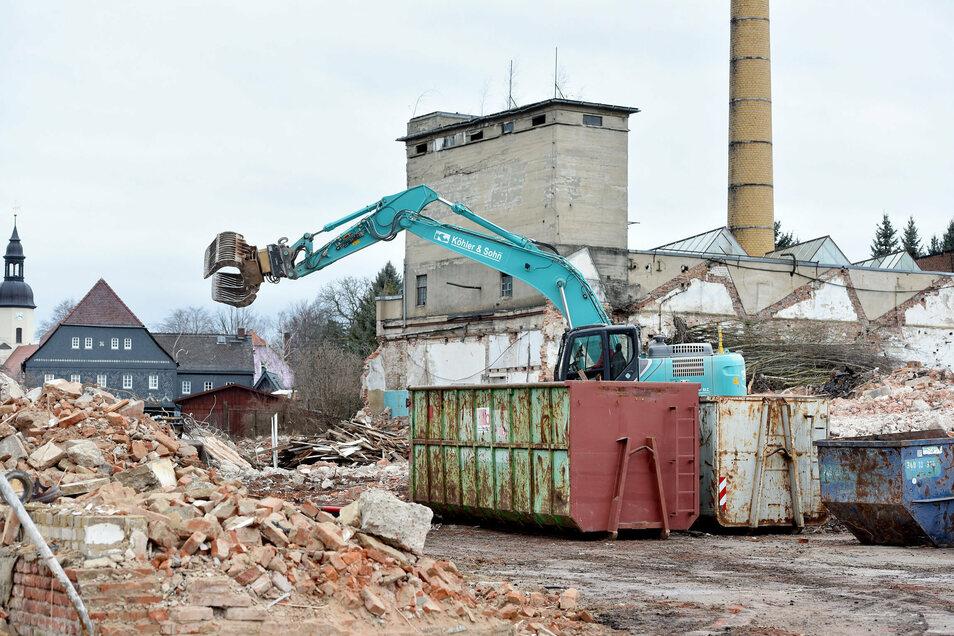 Das Damino-Werk ist abgerissen worden. Jetzt sollen auf der Fläche Eigenheime gebaut werden.