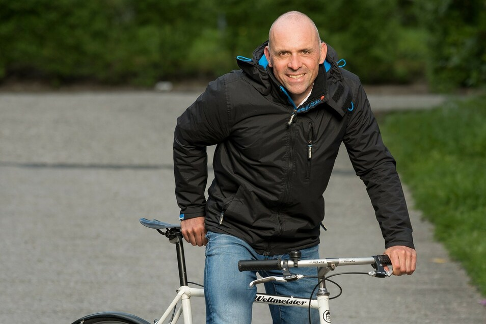 Uwe Ampler (54) gehört in den 1980er Jahren zur Radsport-Weltspitze. Er war 1986 Amateur-Weltmeister und 1988 Olympiasieger.