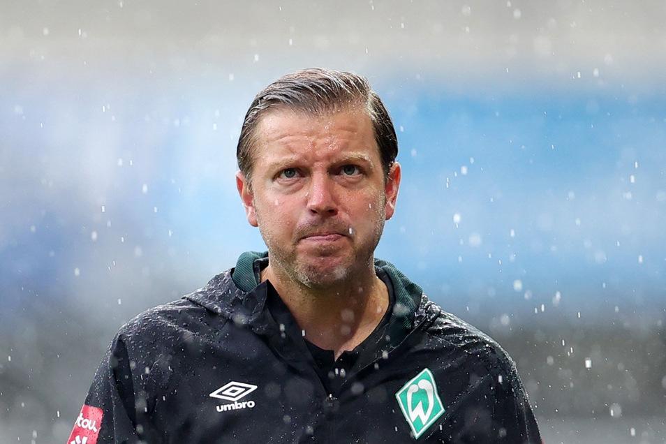 Stand mit Werder Bremen lange im Regen, kann das Schlimmste in der Relegation aber noch abwenden: Trainer Florian Kohfeldt.