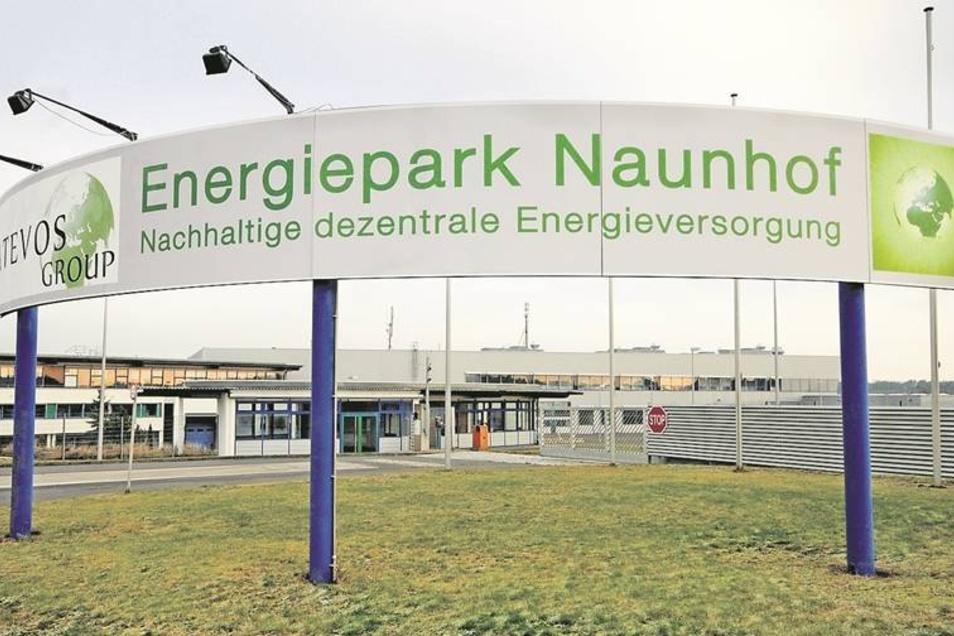 Vom vorerst letzten Projekt zur Wiederbelebung des Schlachthof-Areals zeugt dieses große Werbeschild am Eingang. Ziel war es, einen Energiepark zu gründen.
