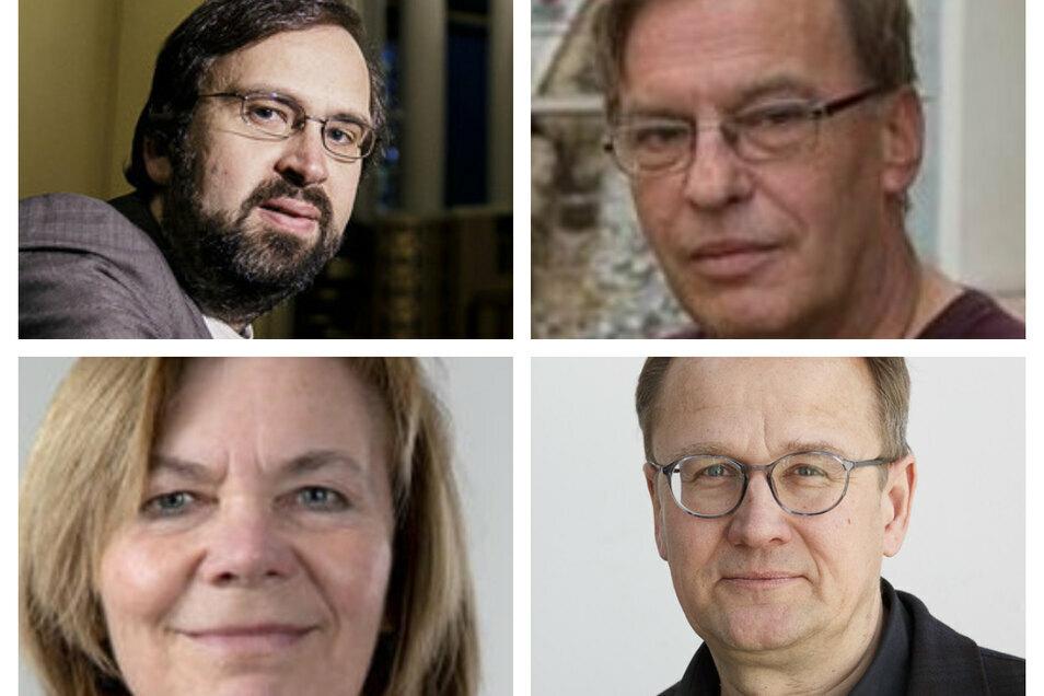 Die Initiatoren der Aktion Albrecht Bönisch, Andreas Neumann-Nochten, Gabi Kretschmer und Frank Seibel
