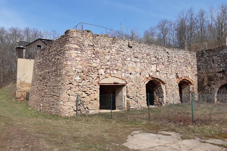 Der nördliche der beiden Kalköfen in Münchhof soll noch in diesem Jahr saniert werden.
