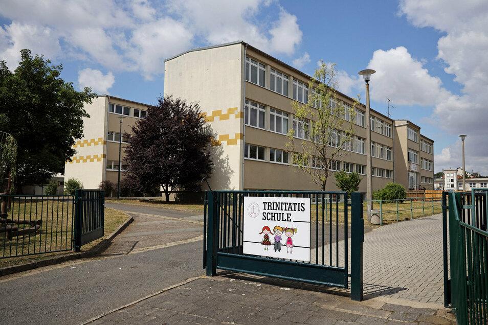 Die Trinitatisschule in Riesa soll an den Großvermieter WGR übertragen und saniert werden.