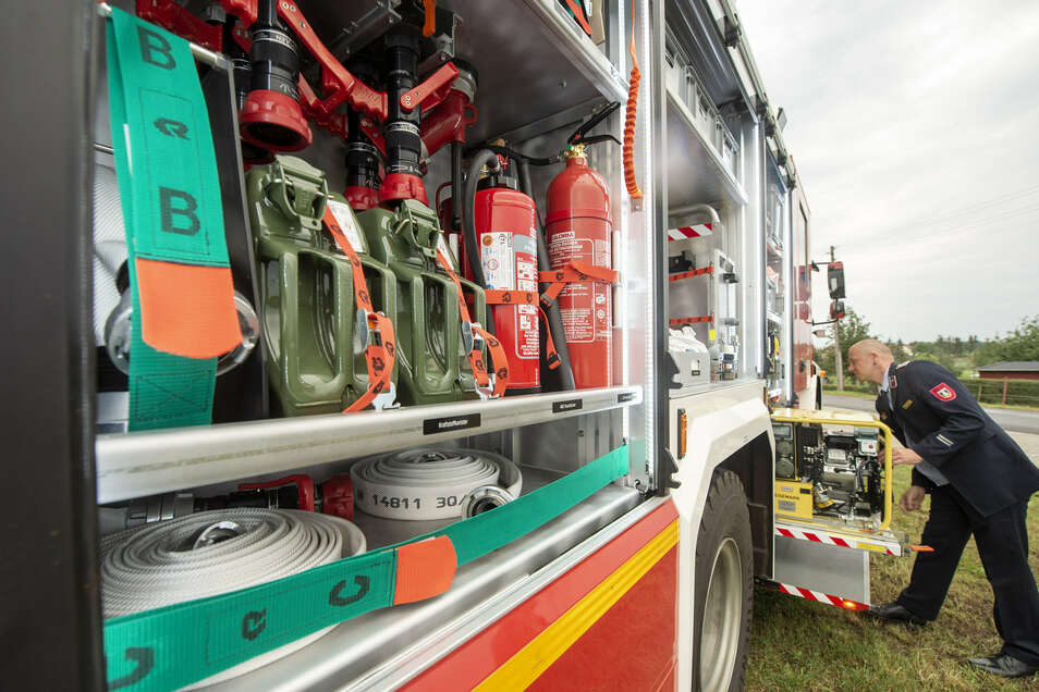 Ausgerüstet auch für größere Katastropheneinsätze und mit neun Mann Besatzung.