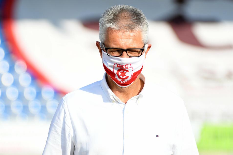 Auch er war im Rennen um die Nachfolge von Michael Born als Dynamo-Geschäftsführer: Ralf Heskamp, derzeit in Diensten von Ligakonkurrent Halle.