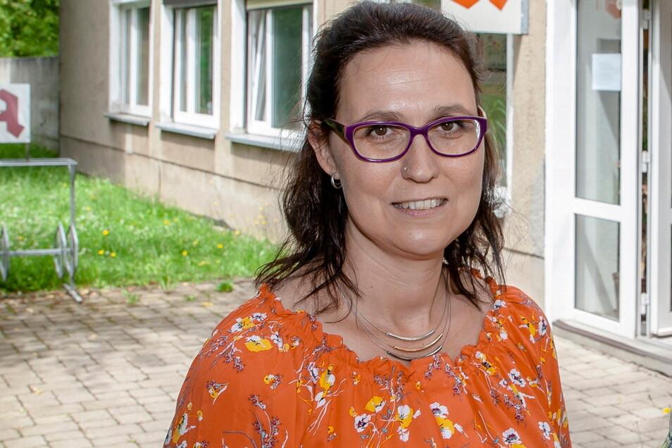 Apothekerin Antje Goldbach bietet in Klingenberg jetzt auch kostenlose Schnelltests an.