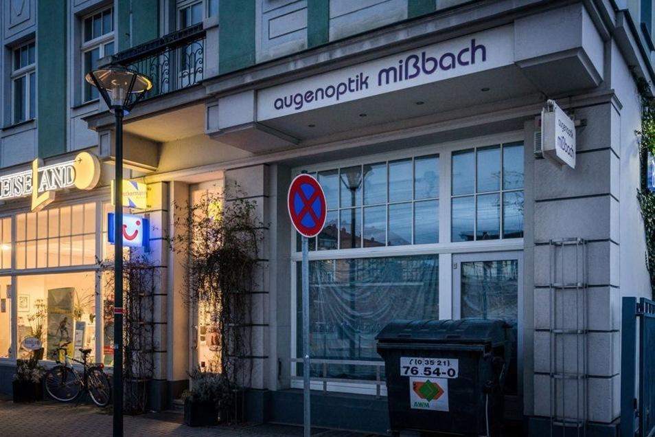 Im Gegensatz zu den beiden Läden, die nach dem Umbau wieder öffnen, bleibt Augenoptik Mißbach geschlossen.