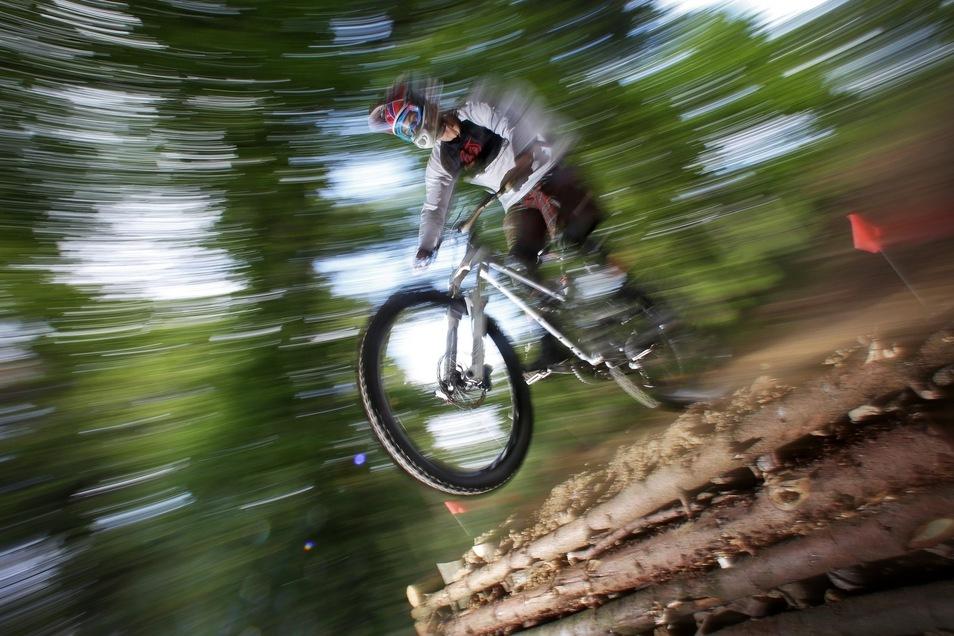 Die Trails bei Sebnitz sollen nicht nur für Könner fahrbar sein.